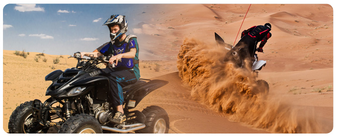 ATV Bike Tour Abu Dhabi, ATV Rental - Hire Abu Dhabi